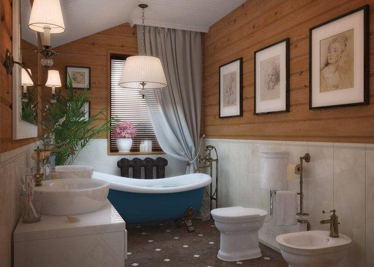 ванная в деревянном доме: 20 тыс изображений найдено в Яндекс.Картинках
