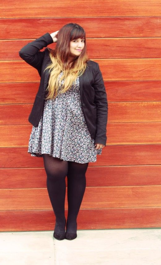 Hip and trendy plus size fashion