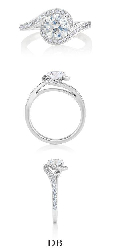 Caress Diamond Engagement Ring | De Beers