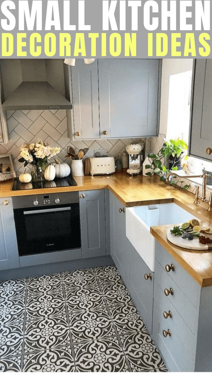 SMALL KITCHEN DECORATION IDEAS FOR YOU