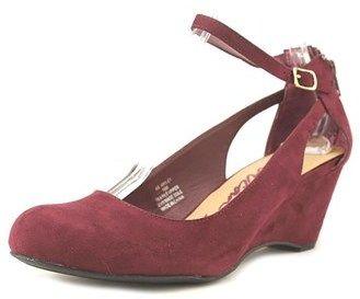American Rag Miley Women Us 5.5 Burgundy Wedge Heel.
