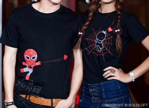 Captured By Your Love™ His & Hers Couples Shirts by BOLDLOFT