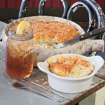 "Puckett's Squash Casserole was listed in Southern Living's ""Best Tennessee Side Dishes"""