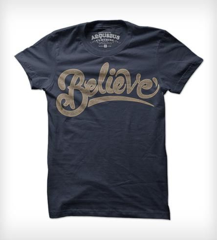 Believe Tee - Ladies by Arquebus Clothing on Scoutmob Shoppe