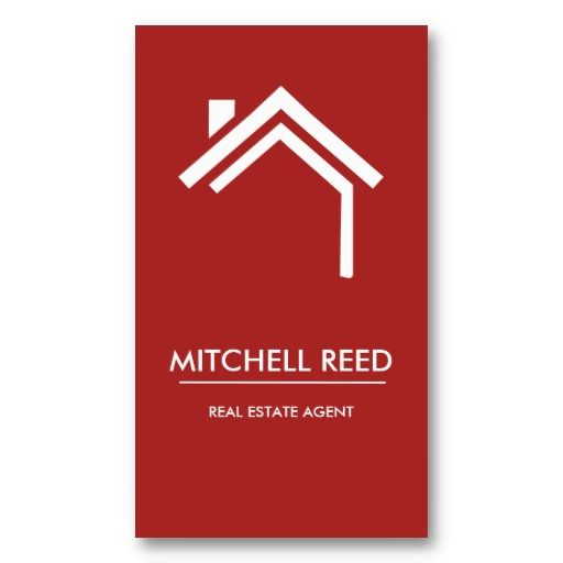 54 best red business cards images on pinterest business cards modern business card no 30 reheart Choice Image