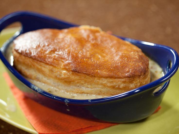 Corn and Crab Chowder Pot Pies Recipe : Rachael Ray : Food Network - FoodNetwork.com