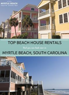 Beach House Rentals That You Can Book Now In Myrtle Beach South Carolina