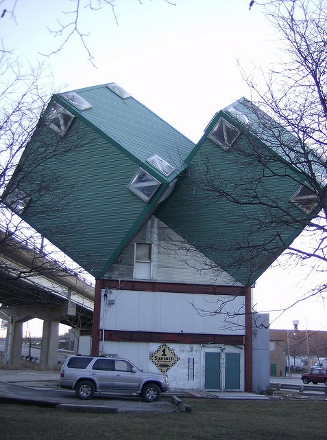 "You've all seen the ""Dice house"" on Sumach near the DVP. One of the most unique homes you'll see near Leslievile."