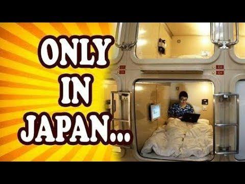 TEN STRANGE THINGS ONLY IN JAPAN