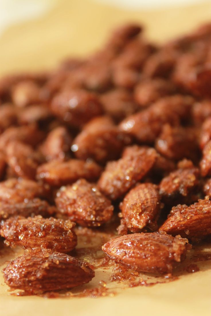 Candied Spiced Almonds | Food Love | Pinterest