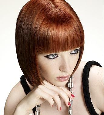 Brunette Medium Hairstyle