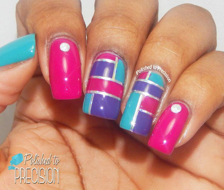 Vibrant Color Blocking by Tiffany  Jordan
