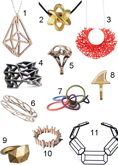 Style Carrot has found some great 3D printed jewelry designs. We're happy to be carrying many of Nervous System's designs. Visit our online store to see what we're featuring!