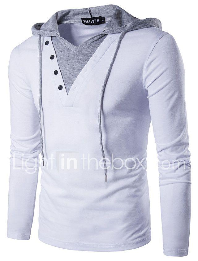 7b61279d3d12b Hombre Activo   Chic de Calle Retazos - Algodón Camiseta