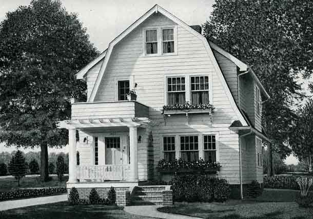 128 best dutch colonial exteriors images on pinterest for Dutch colonial house plans