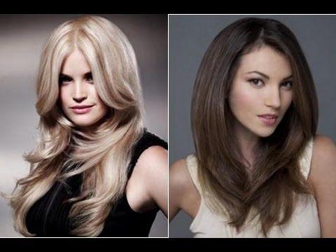Красивые многослойные стрижки на длинные волосы