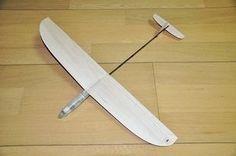 Mini G DLG HLG hand launch glider 2 Ch 600mm balsa wood plane