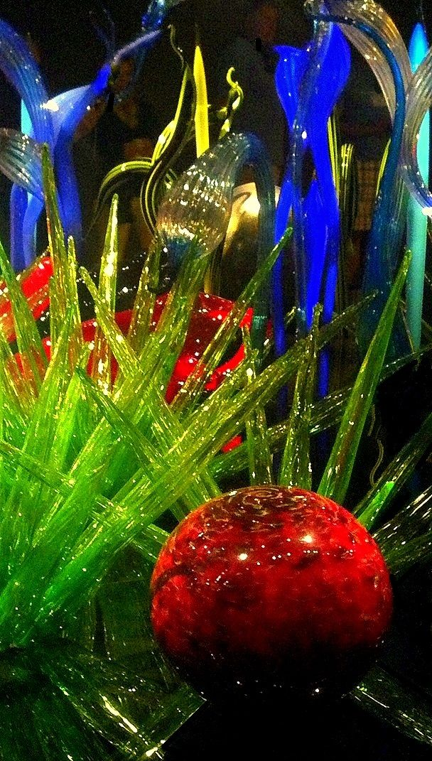 Chihuly Glass Garden Seattle Charles Merrell