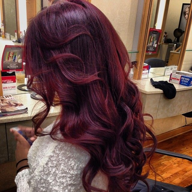 Best 25+ Wine colored hair ideas on Pinterest | Wine red ...