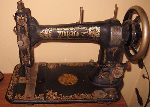 Tumblr - old sewing machine