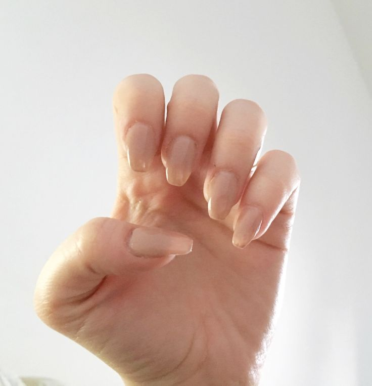 Perfect nude nails #nude #nails