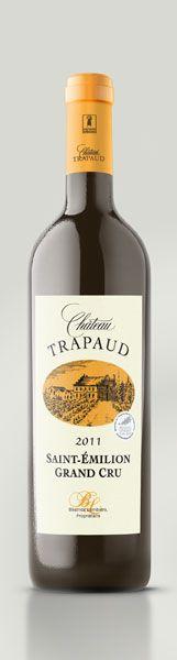 Saint Emilion grand Cru 2011 - Château Trapaud