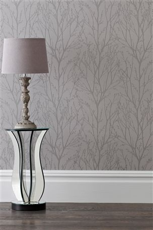 Stunning Buy Twiggs Pewter Wallpaper from the Next UK online shop