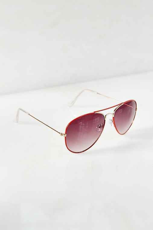 Urban Outfitters Color Crush Aviator Sunglasses