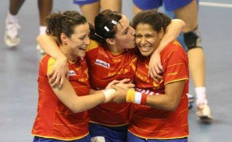 Mundial 2009 - Macarena Aguilar, Eli Pinedo y Marta Mangué