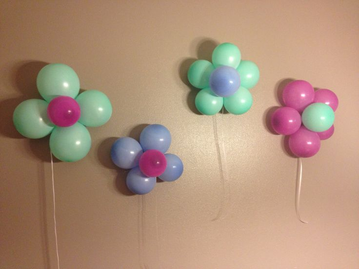 Simple Birthday Decoration On Wall : For my sweet babies th birthday wall decorations kids