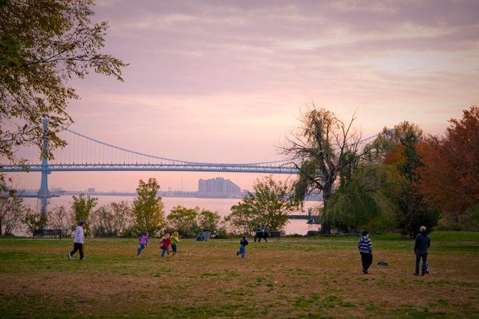 Penn Treaty Park in Fishtown (Photo by M. Kennedy for Visit Philadelphia)