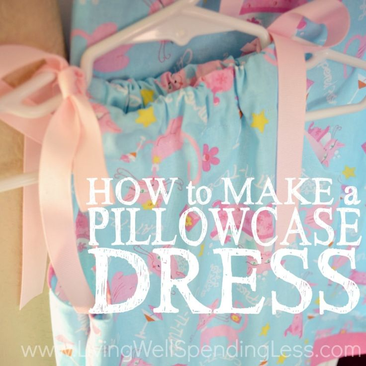 How to Make a Pillowcase Dress Square 1