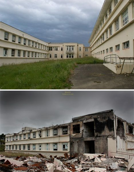 Abandoned New Zealand Waipukurau Hospital 2