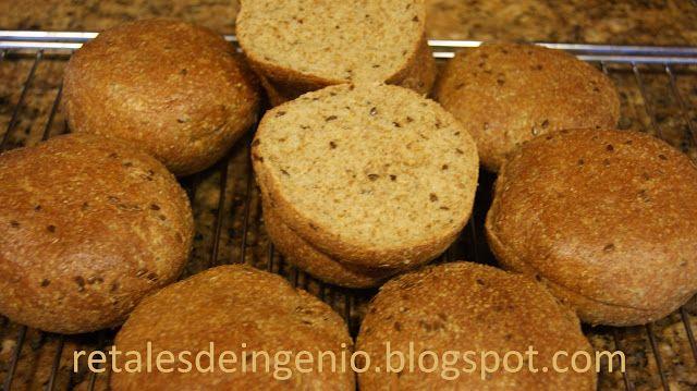 Retales de ingenio: Recetas y Dietética: Panecillos de salvado y gluten