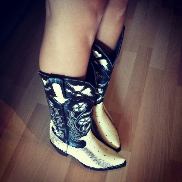 Cowgirl boots☺very comfy.