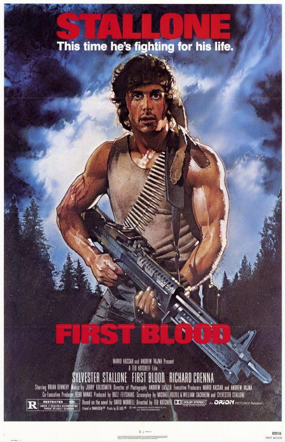 Rambo (1982) John Rambo (Sylvester Stallone) They never should have messed with him. That's what they get. Seen 200 times.