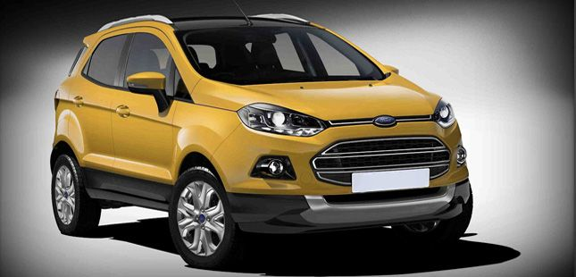 Ford Ecosport: in Europe from 2015