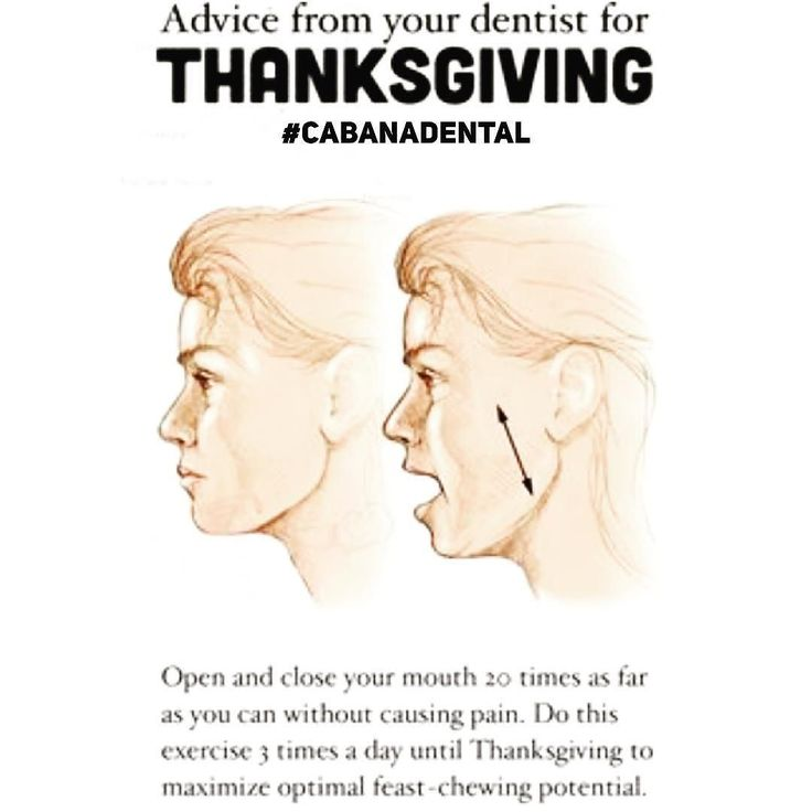 Jaw exercises to improve your eating ability during #thanksgiving#jokes  Reminder : We are closed Monday for the holiday  but will be open Tuesday morning #cabanadental#dentalhumor#tmj#generaldentist#familyandcosmeticdentist#windsoressex#yqg#wincity