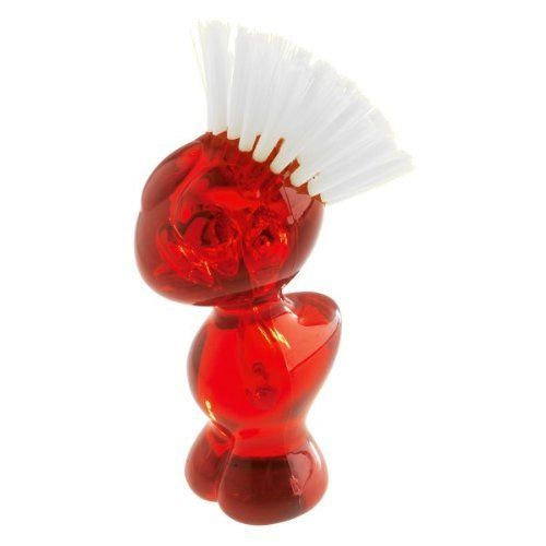 Koziol Tweetie Vegetable Scrubbing Brush Red by Koziol. $15.00. Made in Germany. Tweetie´s favorite scrubbables include potatoes, carrots, radishes and mushrooms. Plastic. Tweetie´s favorite scrubbables include potatoes, carrots, radishes and mushrooms.