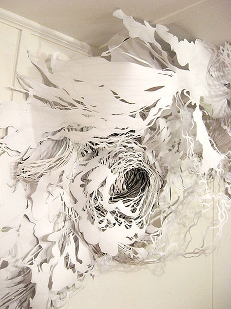 Image detail for -Cloudscapes white art interior installation 3 art in interiors