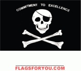 Commit to Excellence Flag