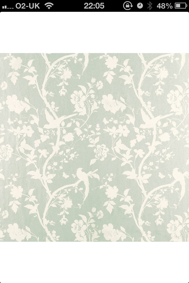 My Oriental Garden Laura Ashley wallpaper! Love love love!