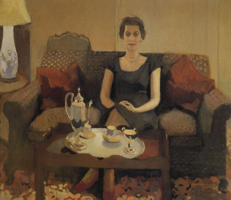 Portrait of a Woman (title unknown) - Fairfield Porter American 1907-1975