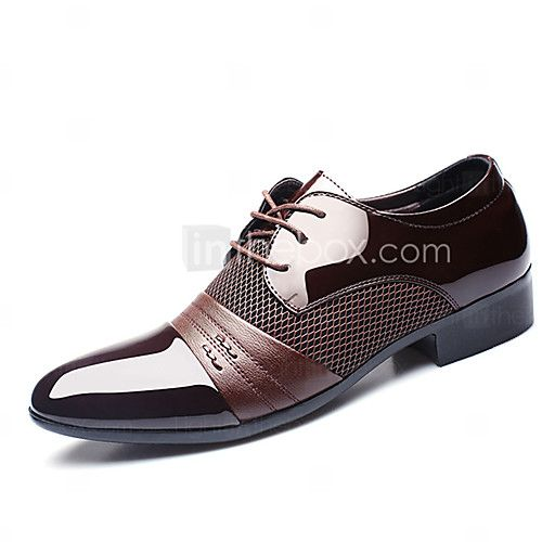 Men's Oxfords Spring Fall Formal Shoes PU Wedding Outdoor Office & Career Casual Party & Evening Flat Heel Black Brown Walking - AUD $32.88 ! HOT Product! A hot product at an incredible low price is now on sale! Come check it out along with other items like this. Get great discounts, earn Rewards and much more each time you shop with us!