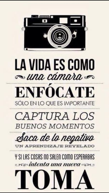 Fotografiando #camara #vida