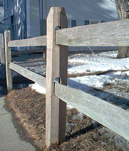 Fence Pictures: Fence Pictures: Split-Rail Fencing