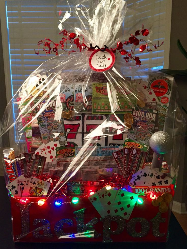35 Best Lottery Ticket Basket Images On Pinterest Gift
