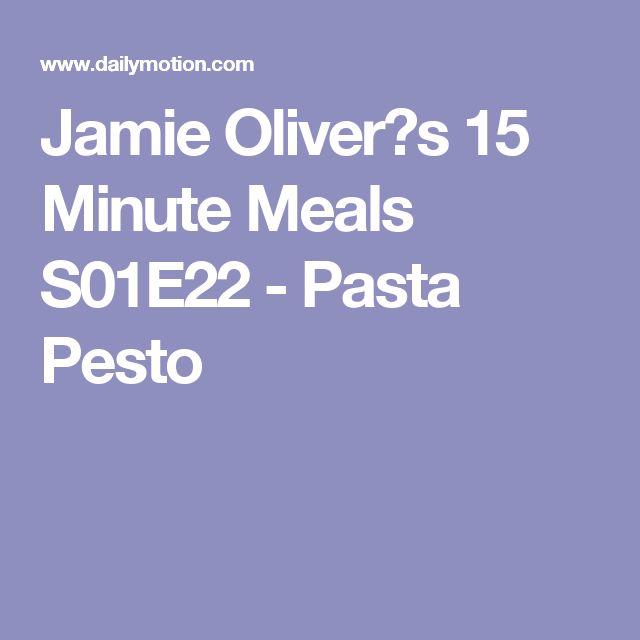 Jamie Oliver?s 15 Minute Meals S01E22 - Pasta Pesto