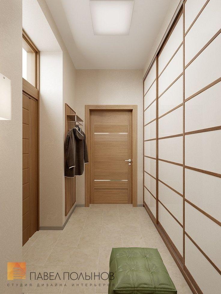 Фото: Дизайн прихожей - Интерьер дома в современном стиле, коттеджный поселок «Небо», 272 кв.м.