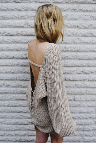 oversized crochet sweater pattern | scoop back knitwear shirt blouse knitted sweater slouchy big oversized ...